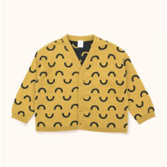 Tinycottons- Spring cardigan for boys and girls (unisex clothes) at Bloom Moda Online Designer Children's Clothes Boutique