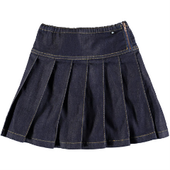 Molo - Girls Bina Denim Skirt at Bloom Moda Online Children's Designer Clothes Boutique