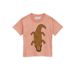 Mini Rodini - Crocco Pink T-Shirt at Bloom Moda Online Children's Designer Clothes Boutique