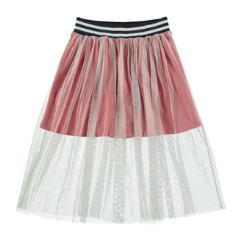 Kids Clothes Designer Yporque - Layered Tulle Skirt at Bloom Moda Online Children's Designer Clothes Boutique