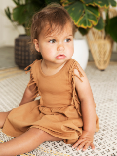 Little Indians - Boho Dress at Bloom Moda Online Children's Boutique