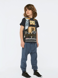 Molo Raddix Peace Bot Shirt at Bloom Moda Online Kids' Clothing Boutique