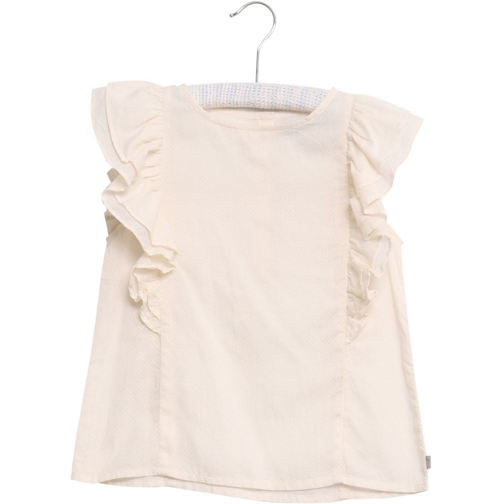 Designer Kids Fashion at Bloom Moda Online Children's Boutique - Wheat Katrine Blouse,  Blouse
