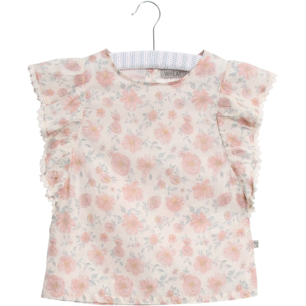 Designer Kids Fashion at Bloom Moda Online Children's Boutique - Wheat Alfi Blouse,  Blouse