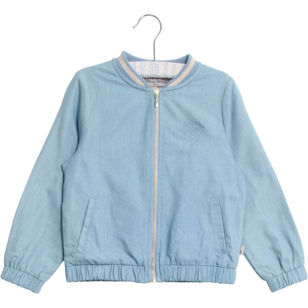 Designer Kids Fashion at Bloom Moda Online Children's Boutique - Disney Wheat Marie Bomber Jacket,  Jacket