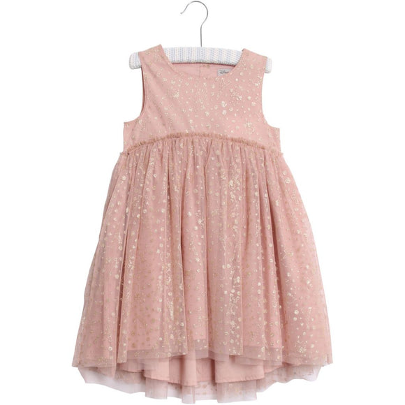 Designer Kids Fashion at Bloom Moda Online Children's Boutique - Disney Wheat Tulle Marie Dress,  Dress