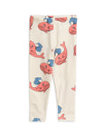 Designer Kids Fashion at Bloom Moda Online Children's Boutique - Mini Rodini Printed Whale Leggings,  Pants