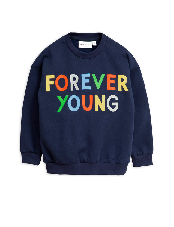 Designer Kids Fashion at Bloom Moda Online Children's Boutique - Mini Rodini Forever Young Sweatshirt,  Shirt