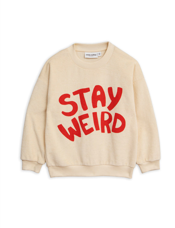 Designer Kids Fashion at Bloom Moda Online Children's Boutique - Mini Rodini Stay Weird Sweatshirt,  Shirt