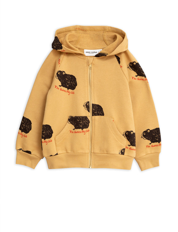 Mini Rodini Guinea Pig Zip Hoodie - Bloom Moda