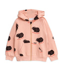 Designer Kids Fashion at Bloom Moda Online Children's Boutique - Mini Rodini Guinea Pig Zip Hoodie,  Shirt