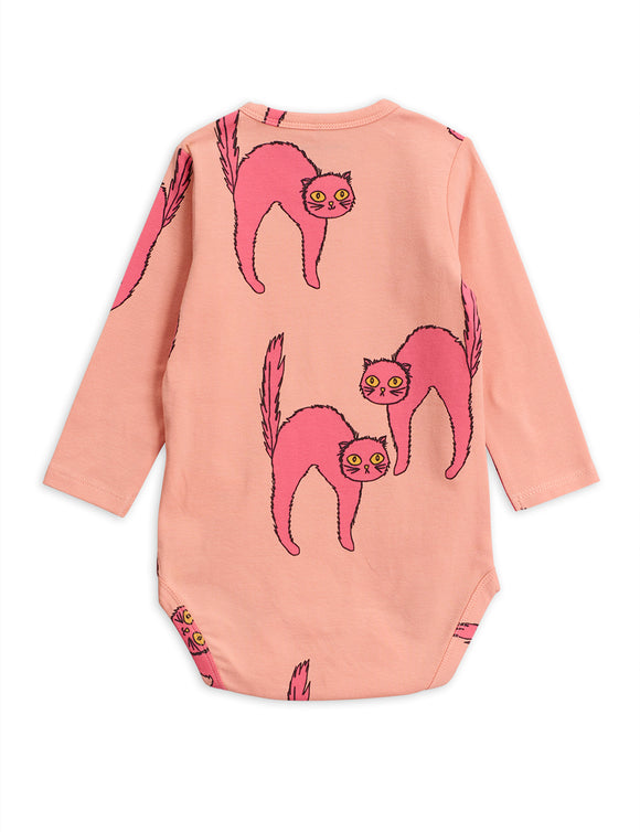 Mini Rodini Cat Long Sleeve Body