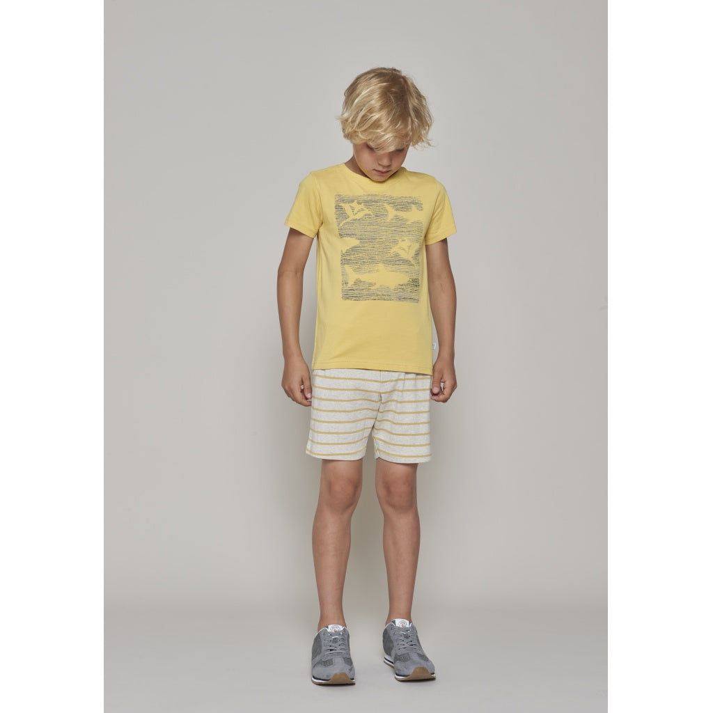 Designer Kids Fashion at Bloom Moda Online Children's Boutique - Wheat Sea Life T-Shirt,  Shirt