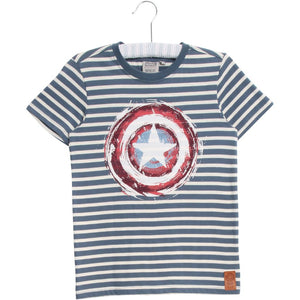 Designer Kids Fashion at Bloom Moda Online Children's Boutique - Marvel by Wheat Captain America Shield T-Shirt,  Shirt