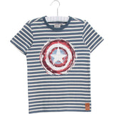 Marvel by Wheat Captain America Shield T-Shirt - Bloom Moda
