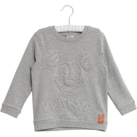 Designer Children's Fashion: Bloom Moda Online Kids Boutique - Disney Wheat Mickey Sweatshirt,  Shirt