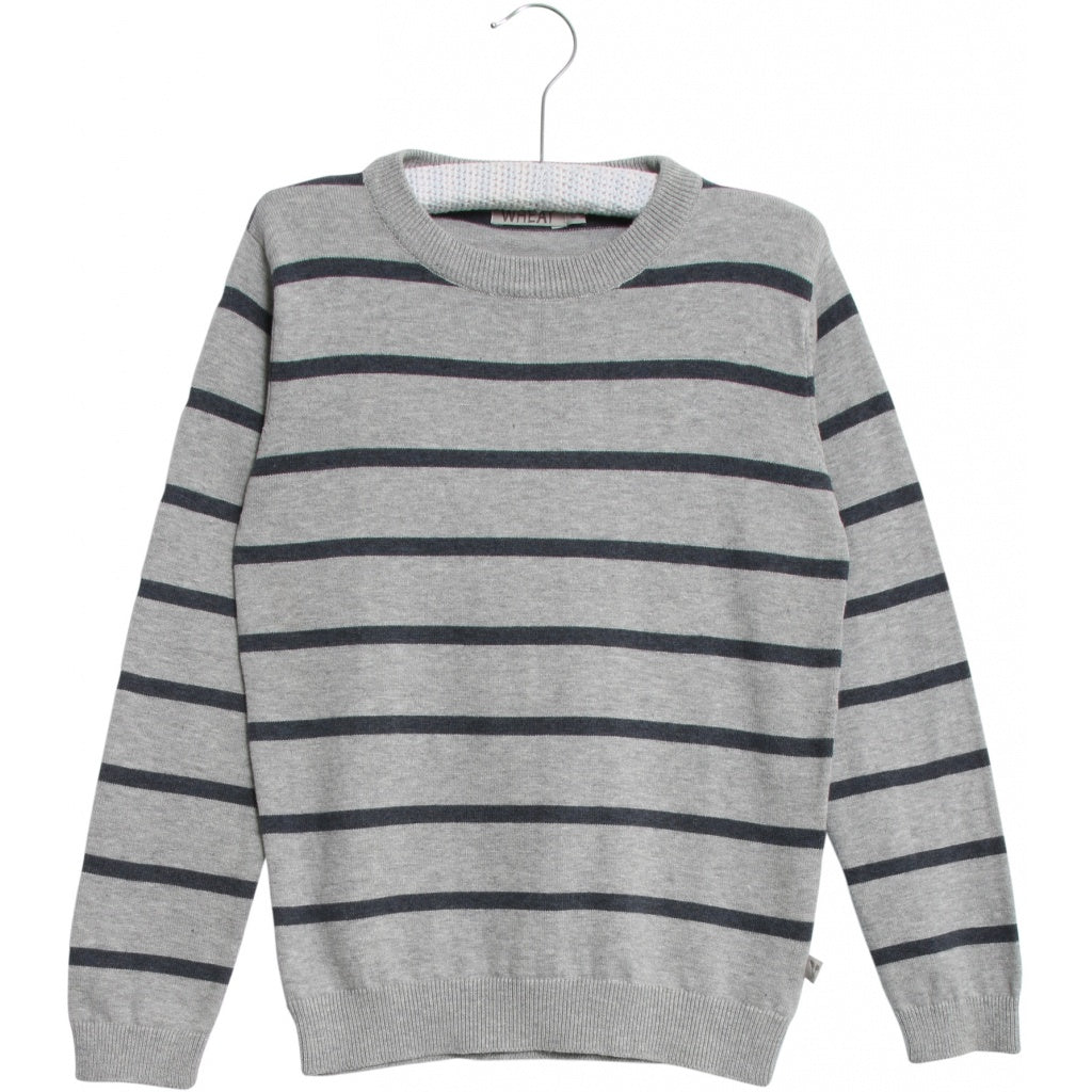 Designer Kids Fashion at Bloom Moda Online Children's Boutique - Wheat Knit Carl Pullover,  Sweaters