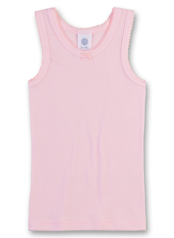 Designer Kids Fashion at Bloom Moda Online Children's Boutique - Sanetta Sleeveless Girls Undershirt,  Underwear
