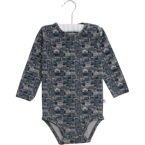 Designer Children's Fashion: Bloom Moda Online Kids Boutique - Wheat Long Sleeved Body,  Bodies