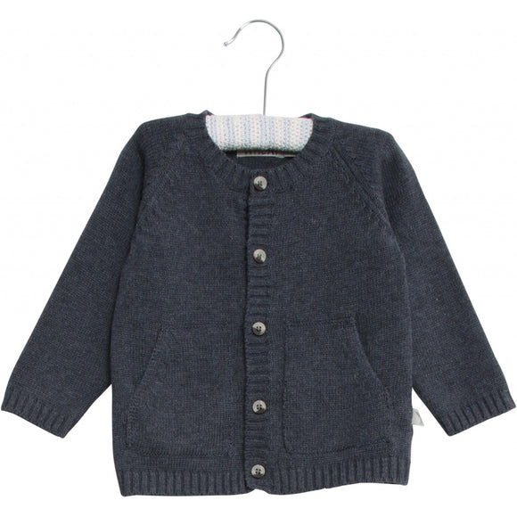 Designer Kids Fashion at Bloom Moda Online Children's Boutique - Wheat Classic Knit Cardigan,  Sweater