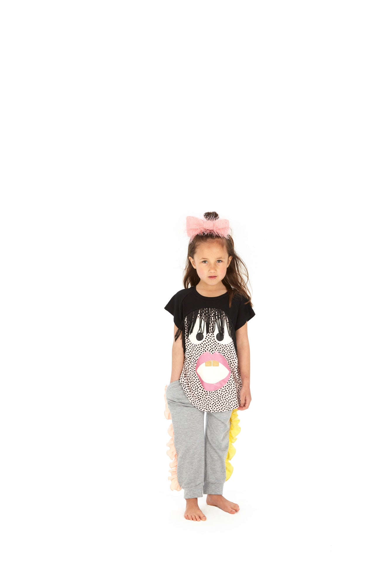 Designer Kids Fashion at Bloom Moda Online Children's Boutique - Wauw Capow by BangBang Aya Pants,  Pants