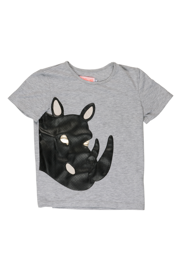 Wauw Capow by BangBang Bad Rhino T-Shirt - Bloom Moda