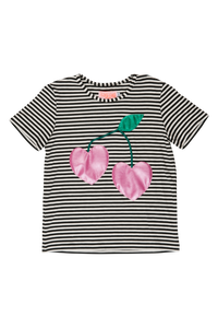 Designer Kids Fashion at Bloom Moda Online Children's Boutique - Wauw Capow by BangBang Berry Cherry Shirt,  Shirt