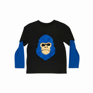 Designer Kids Fashion at Bloom Moda Online Children's Boutique - Wauw Capow by BangBangFresh Gorilla T-Shirt,  Shirt