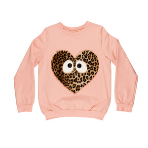 Designer Kids Fashion at Bloom Moda Online Children's Boutique - Wauw Capow by BangBang Heart Sweatshirt,  Sweatshirt
