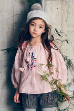 Designer Kids Fashion at Bloom Moda Online Children's Boutique - Nellystella Hellena Blouse,  Blouse