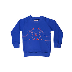 Designer Kids Fashion at Bloom Moda Online Children's Boutique - Wauw Capow by BangBang Love Sweatshirt,  Sweatshirt