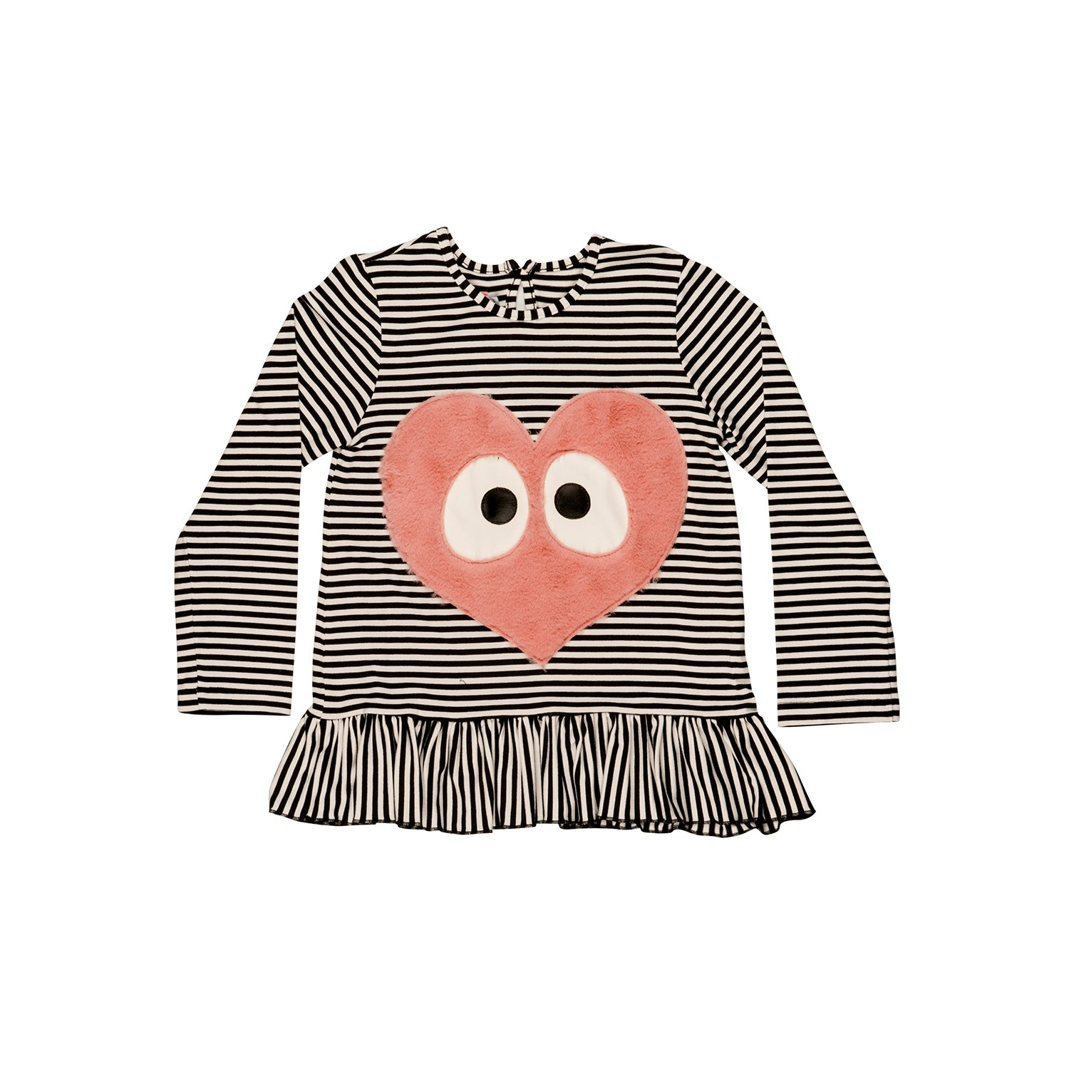 Designer Kids Fashion at Bloom Moda Online Children's Boutique - Wauw Capow by BangBang Miss Heart Shirt,  Blouse