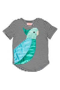 Designer Kids Fashion at Bloom Moda Online Children's Boutique - Wauw Capow by BangBang Poppy Green Shirt,  Shirt