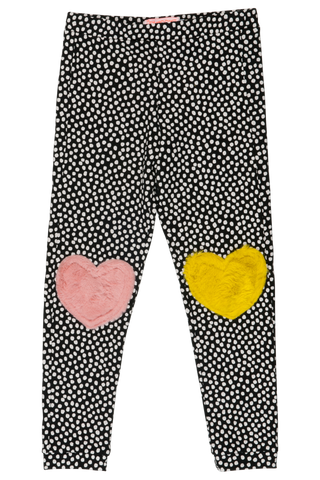Designer Kids Fashion at Bloom Moda Online Children's Boutique - Wauw Capow by BangBang Sweet Knees Leggings,  Pants