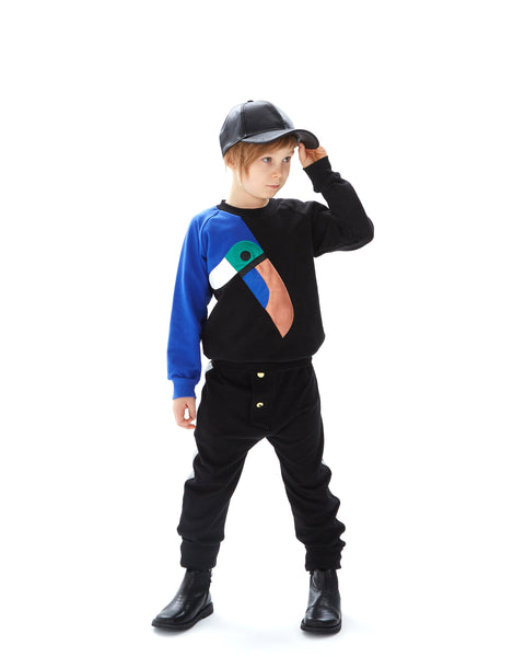 Designer Kids Fashion at Bloom Moda Online Children's Boutique - Wauw Capow by BangBang Tuscan Sweatshirt,  Sweatshirt