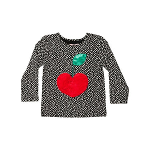 Designer Kids Fashion at Bloom Moda Online Children's Boutique - Wauw Capow by BangBang Cherry Tee Dot,  Blouse