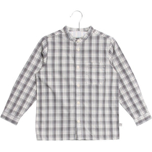 Designer Kids Fashion at Bloom Moda Online Children's Boutique - Wheat Plaid Shirt Pocket LS,  Shirt