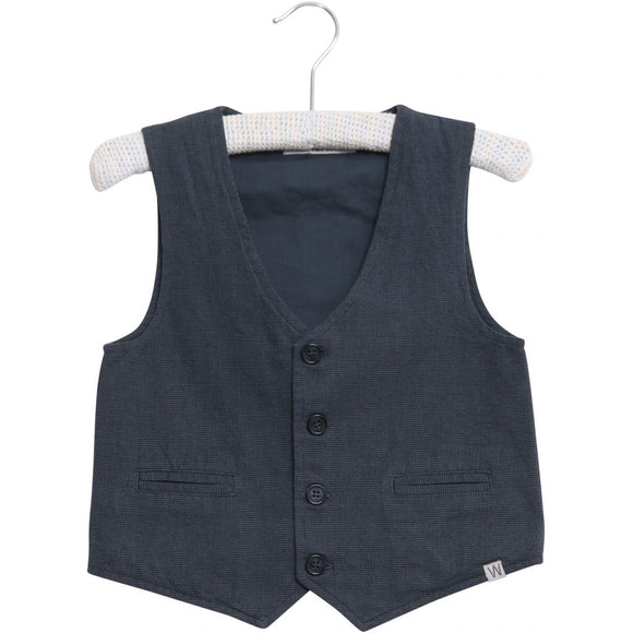 Designer Kids Fashion at Bloom Moda Online Children's Boutique - Wheat Woven Vest,  Shirt