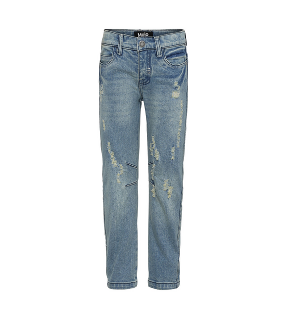 Molo Alonso - Washed Denim Jeans - Bloom Moda