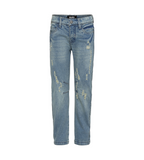 Designer Kids Fashion at Bloom Moda Online Children's Boutique - Molo Alonso - Washed Denim Jeans,  Pants