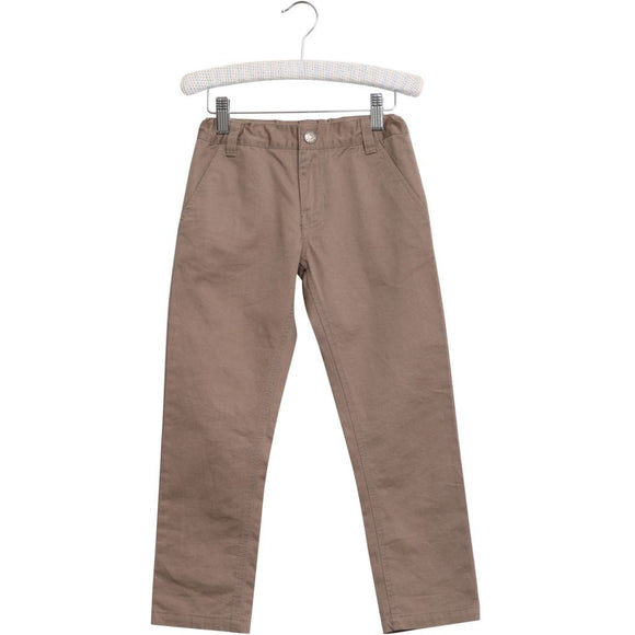Designer Kids Fashion at Bloom Moda Online Children's Boutique - Wheat Twill Chinos,  Pants