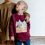 Designer Kids Fashion at Bloom Moda Online Children's Boutique - Lililotte Nantes Axel Sweatshirt,  Sweaters