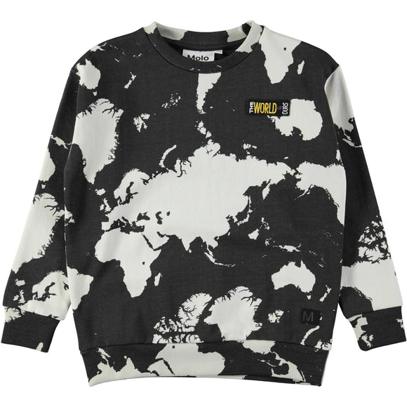 Molo Madsim World Map Shirt - Bloom Moda