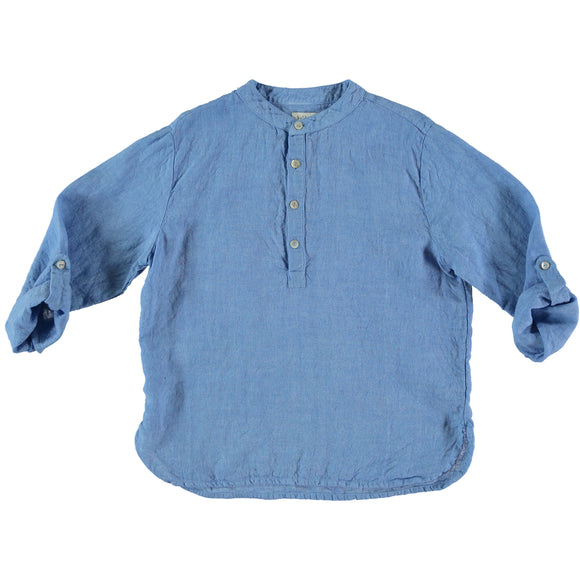 Designer Kids Fashion at Bloom Moda Online Children's Boutique - Búho Paul Linen Kurta Shirt,  Shirt