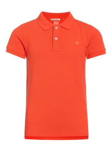 Designer Children's Fashion: Bloom Moda Online Kids Boutique - Scotch & Soda Pique Polo,  Shirt