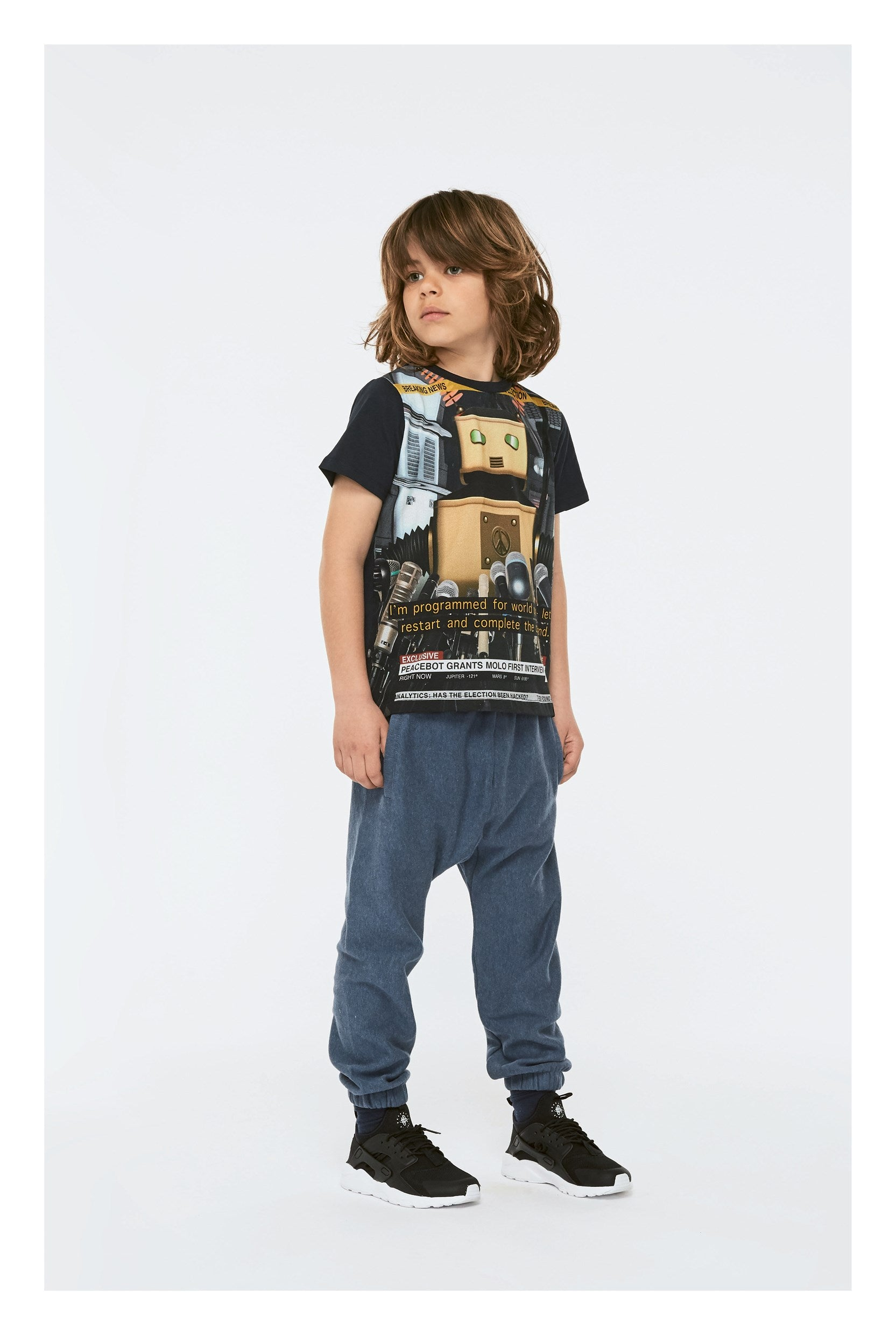 Designer Kids Fashion at Bloom Moda Online Children's Boutique - Molo Raddix Shirt,  Shirt