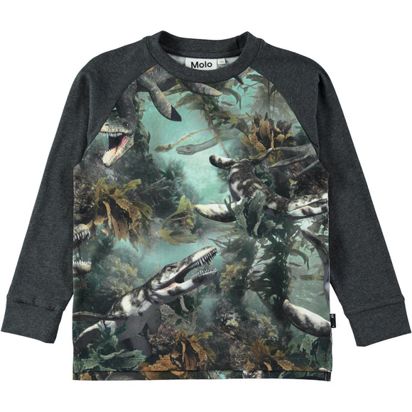 Designer Kids Fashion at Bloom Moda Online Children's Boutique - Molo Ramiz Lake Monsters Shirt,  Shirt