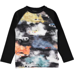 Designer Kids Fashion at Bloom Moda Online Children's Boutique - Molo Remington Burnout Shirt,  Shirt