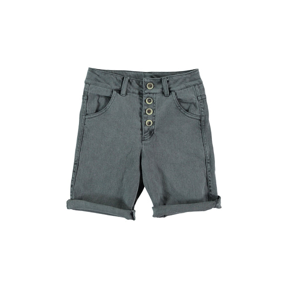 Designer Kids Fashion at Bloom Moda Online Children's Boutique - Búho Daniel Front Buttoned Bermuda Shorts,  Shorts