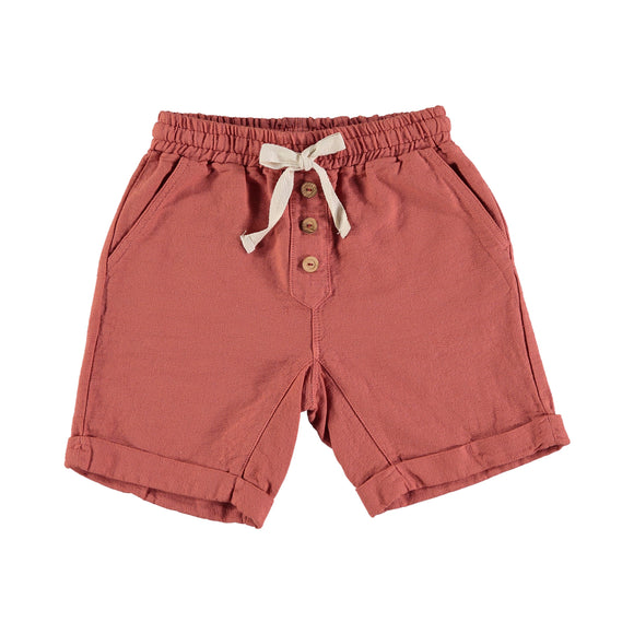 Designer Kids Fashion at Bloom Moda Online Children's Boutique - Búho Simon Cotton Bermuda Shorts,  Shorts